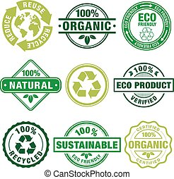 Eco Theme Plain Stamps