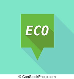 eco, tooltip, ombre, long, texte