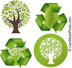 Eco Trees Set