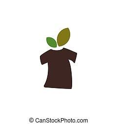 eco tshirt vector design template illustration