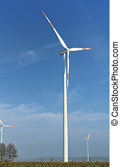 eco, turbine, erzeugen, wind, electri