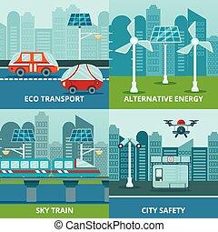 Eco Urban Design Concept