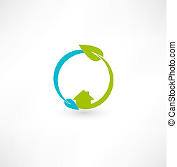 eco, verde, energía