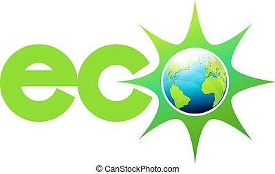 eco, welt, energie, symbol, ikone