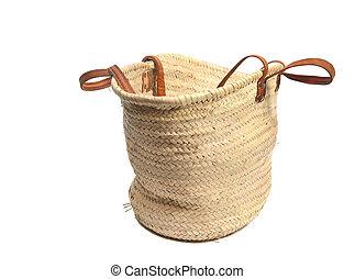 eco wicker shopping bag - Wicker shopping bag