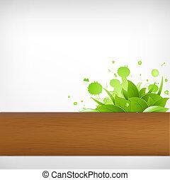 Eco Wood Background