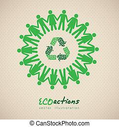 ecológico, ícone