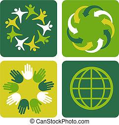 ecológico, 2, fundos
