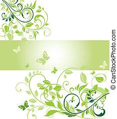ecológico, bandera