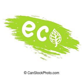 ecológico, concepto