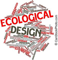 ecológico, desenho