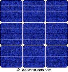 ecológico, energia solar, renovável, painel