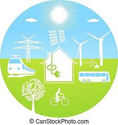 ecológico, energia