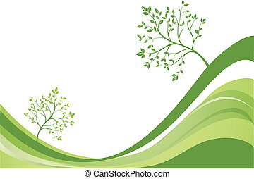 ecológico, fundo