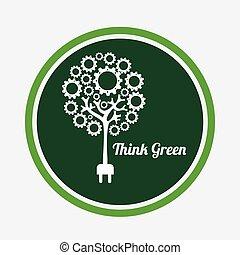 ecológico, mente