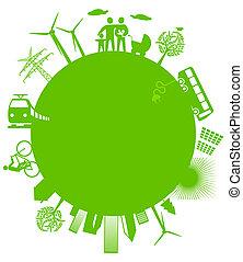 ecológico, mundo