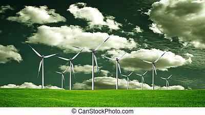 ecológico, planeta verde