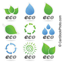 ecologia, ícone