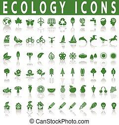 ecologia, ícones