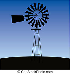 ecologia, concept:, wind-driven