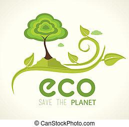 ecologia, disegno