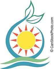 ecologia, logotipo