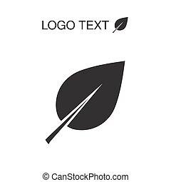 ecologia, natura, logotype, vettore, icona, logotipo, o