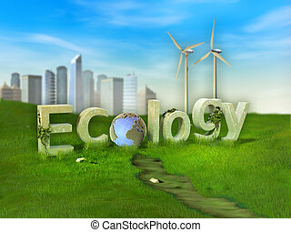 ecologia, sustentável, estilos vida