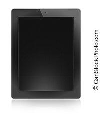 ecologic ipad design tablet PC, background black