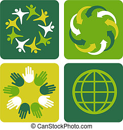 Ecological backgrounds 2