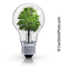 Ecological concept - Creative ecological, environmental...