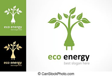 Ecological electricity logo