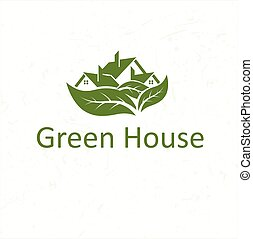 ecological house icon
