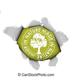 Ecological, organic item