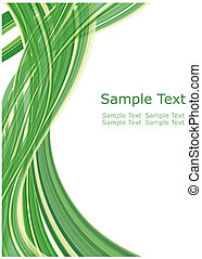 ecological pattern - Abstract vector template background for...