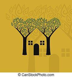 Ecological smart house