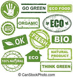 ecological stamps