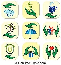 Ecological symbols