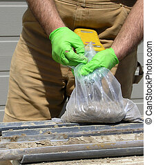 Ecological test. - Second assessment after the samples are...