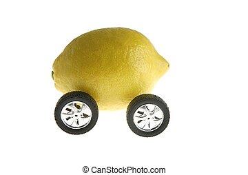 Ecological transport metaphor, lemon and wheels - Ecological...