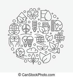 Ecological vector concept