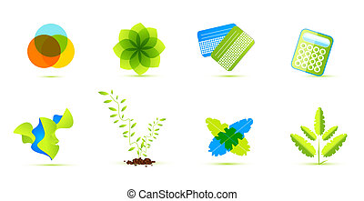 Ecological vector icons