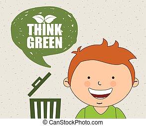 ecologico, bambini