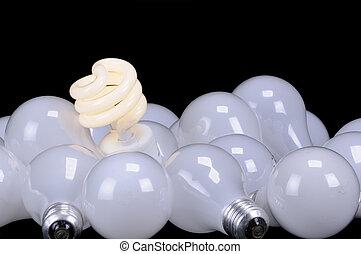 Ecologigical light source, the green light, a brilliant idea...