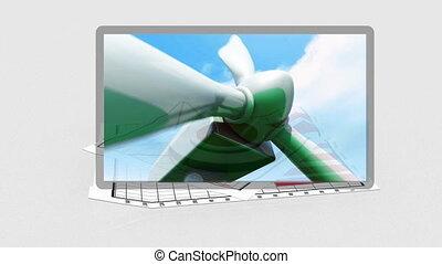 ecologisch, zakelijk, video's