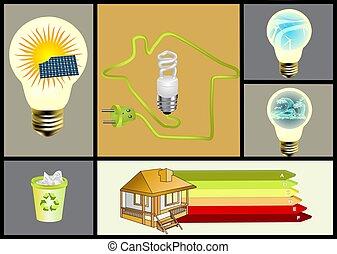 ecology and alternative energy set