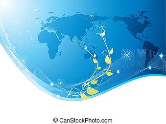 Ecology business background