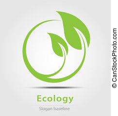 Ecology business icon - Originally created ecology business...
