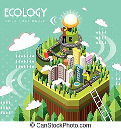 ecology concept