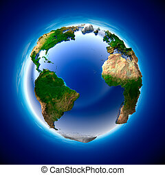 Ecology Earth - The metaphor of ecology and purity of the...
